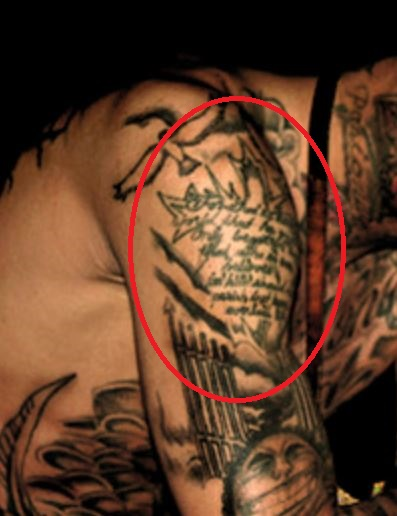 Tyga Bible Verse Tattoo (2)