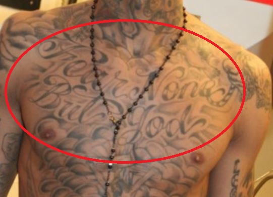 Tyga Fear None But God Tattoo