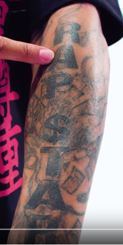 Tyga RAPSTAR Tattoo
