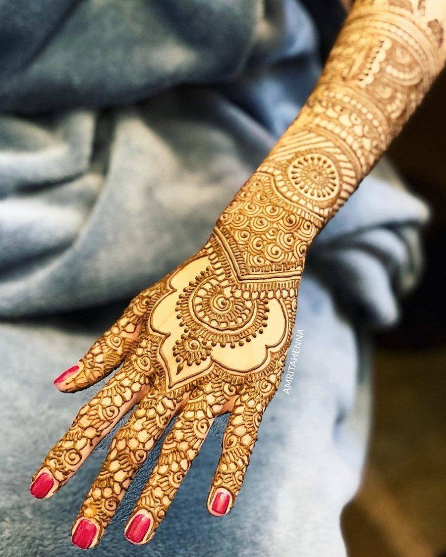 65 Bridal Mehndi Designs For Full Hands Body Art Guru