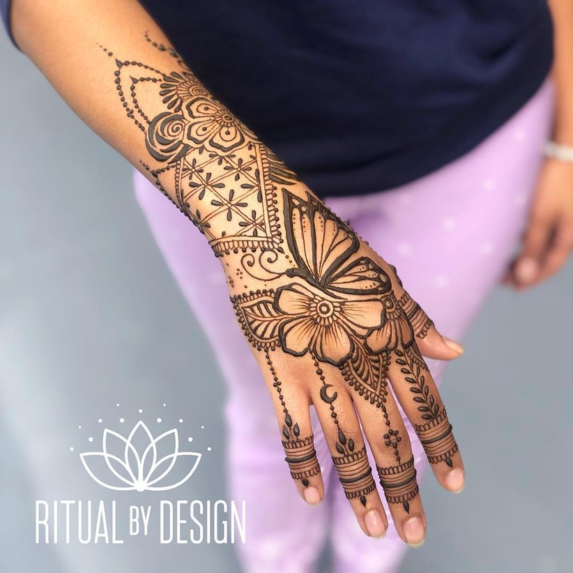normal arabic mehndi designs