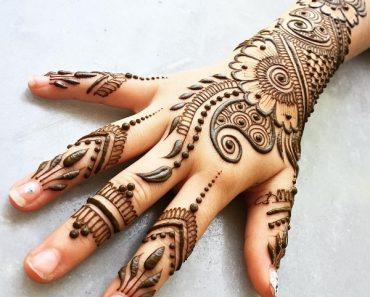24 Beautiful Mehendi Designs For Your Hands Body Art Guru