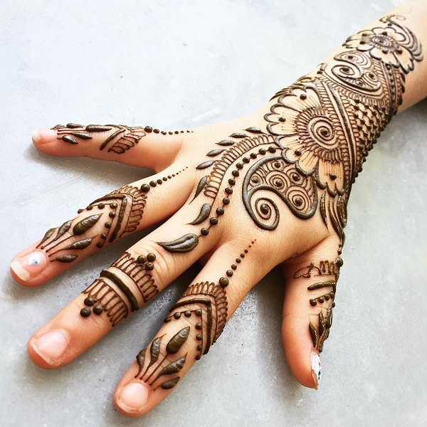 61 Mehndi Design For Kids Body Art Guru