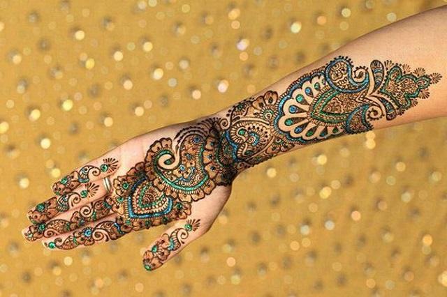 bridal henna designs 11