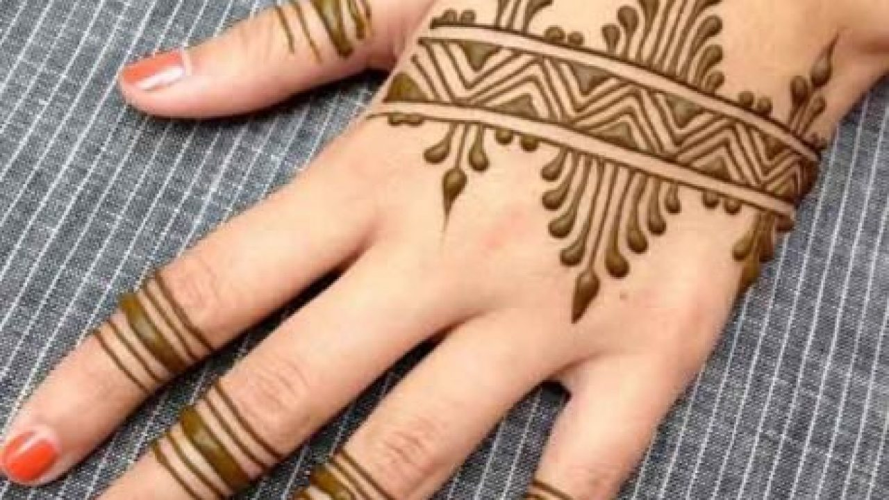 70 Simple Mehndi Designs For Hands Body Art Guru,Dubai Design District