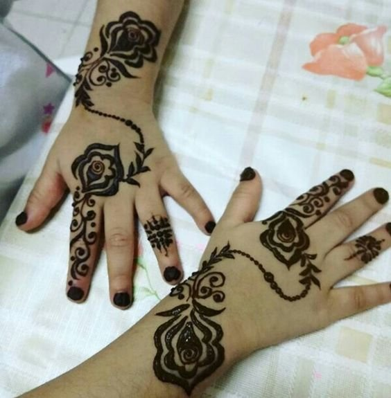 kids mehandi design