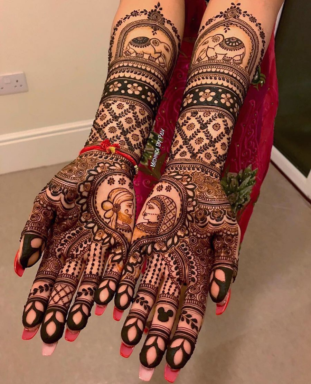 65 Bridal Mehndi Designs For Full Hands Body Art Guru,Good Business Card Design