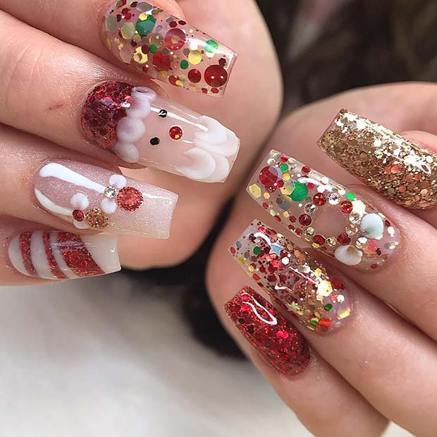 Download Christmas Nails
