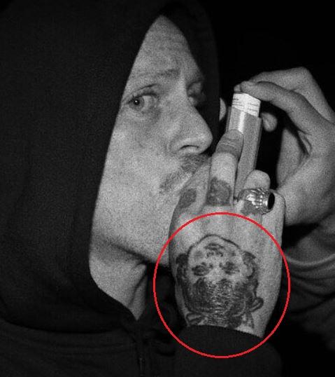 Chippa Wilson portrait tattoo