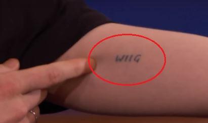 Ellen Page wiig tattoo