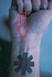 John frusciante tattoos meaning