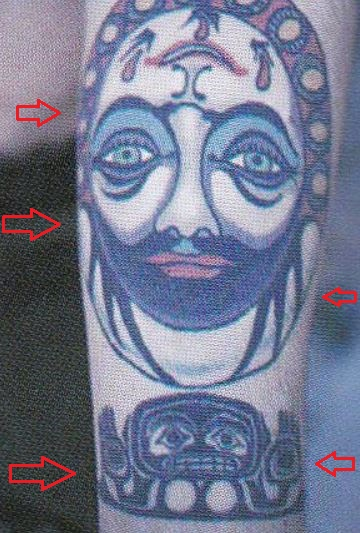 "Frusciante arm john tattoo ""I guess"