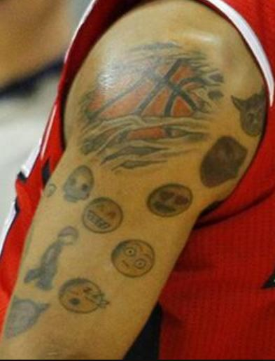 Mike Scott Emoji Bicep