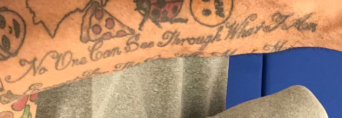 Mike Scott Quote on left arm