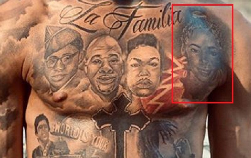 Portrait of Mother-Tattoo-NLE-Choppa