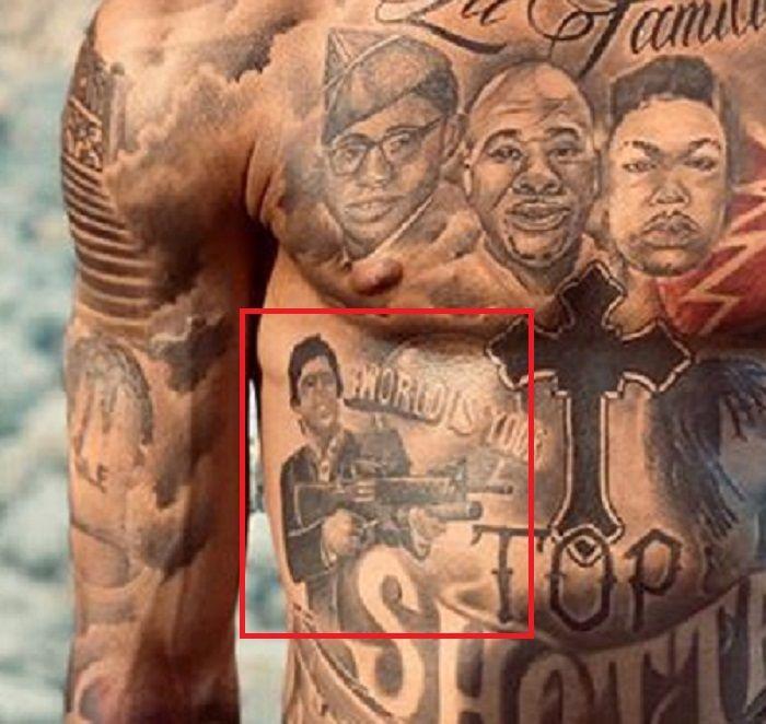 Portrait tattoo-NLE Choppa