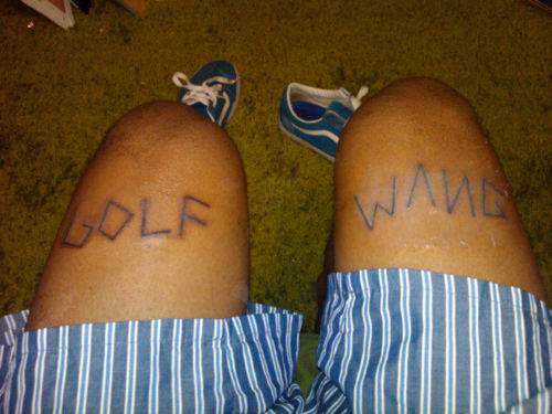 Tyler GOLF WANG Tattoo