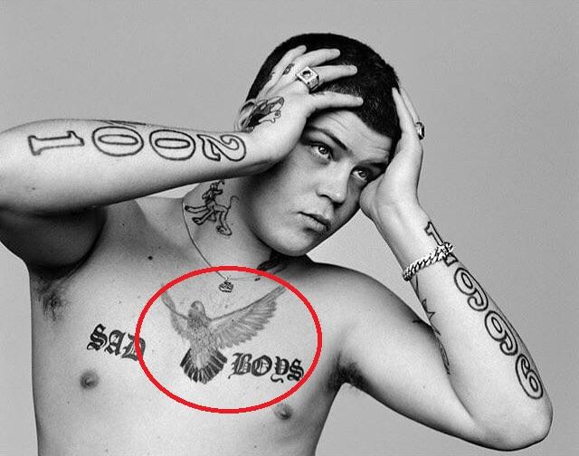 Yuan Eagle Tattoo