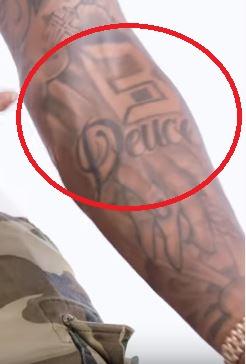 Bradley Deuce Tattoo