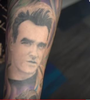 Chris Left Arm Portrait