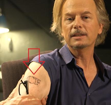 David Spade Cf Tattoo