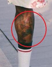 Gucci Mane mario tattoo