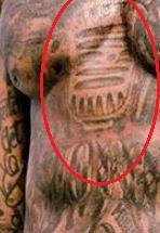 Gucci Mane mic tattoo