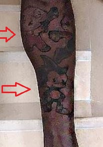 Gucci Mane sonic family guy tattoo