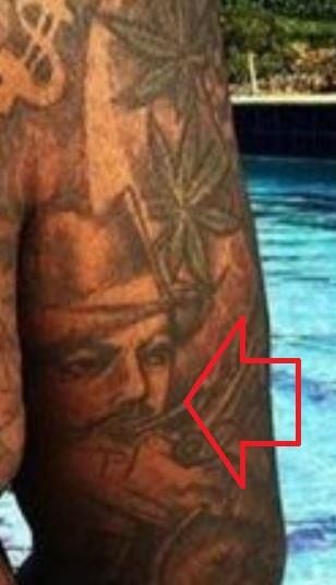 Rick Portrait on Right Arm