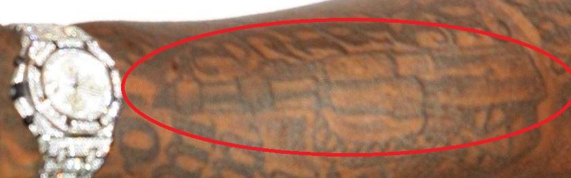 Rick Ross Air Gun Tattoo