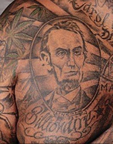 Rick Ross Billionaire Tattoo