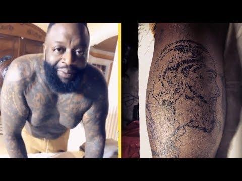 Rick Ross Nipsey Hustle Tattoo