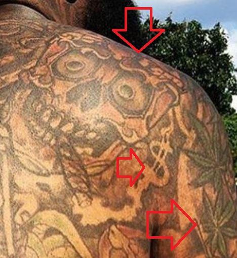 Rick Ross Skeleton on the Back