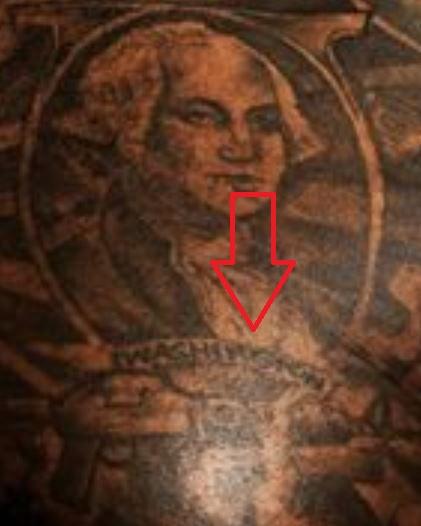 Rick Ross WASHINGTON Tattoo