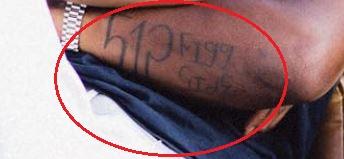 Schoolboy Q forearm tattoo