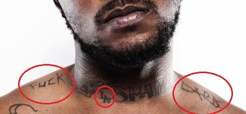 Schoolboy Q fuck lapd tattoo