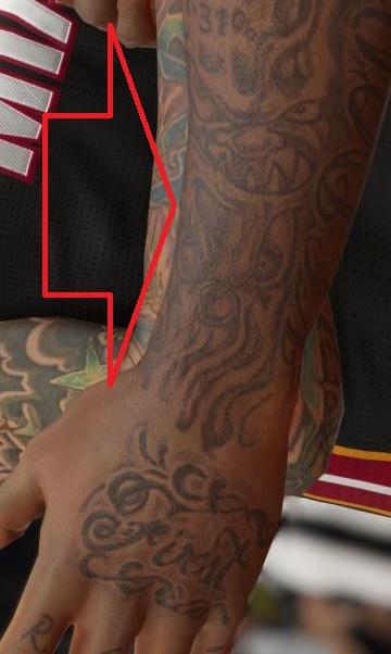 Udonis Left Forearm Tattoo