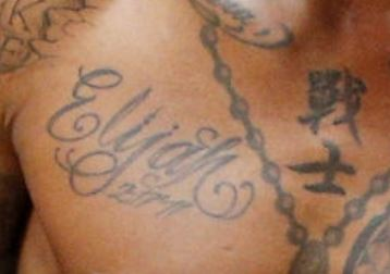 Udonis Son Name Tattoo