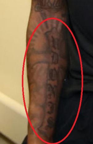Udonis Torso Tattoo