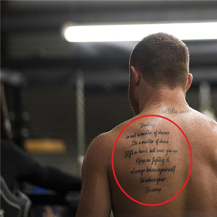 canelo-quote tattoo