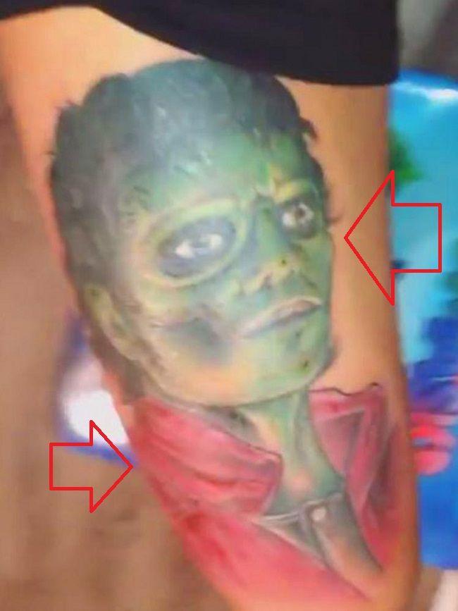 gervonta davis-michael jackson tattoo