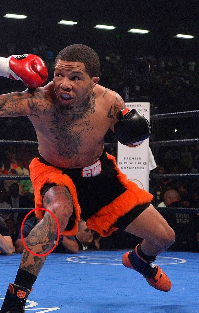 gervonta davis-unidentified tattoo