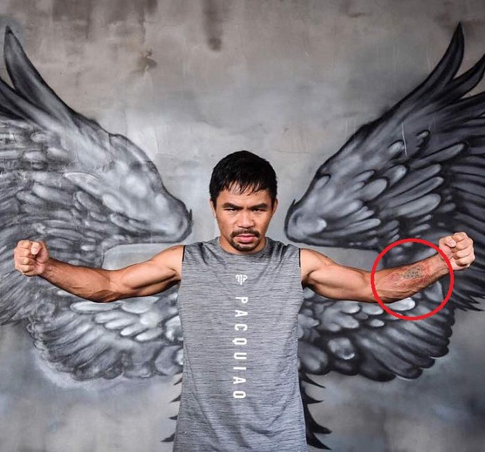 manny pacquiao-meteor tattoo