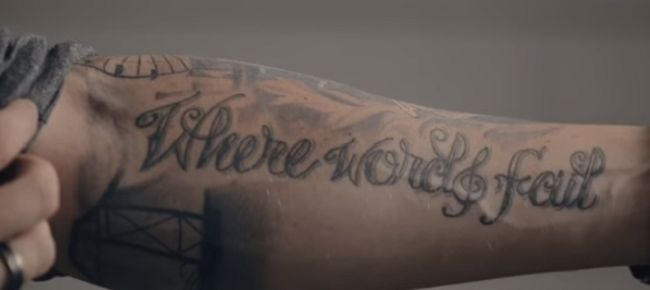 Brett Young-Where Words Fail-Tattoo
