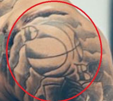 Dave Basketball Tattoo