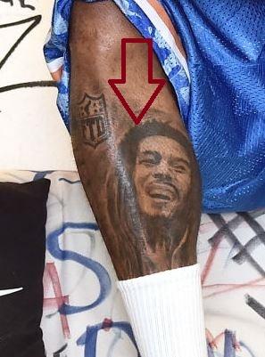 Dave East Bob Marley Tattoo