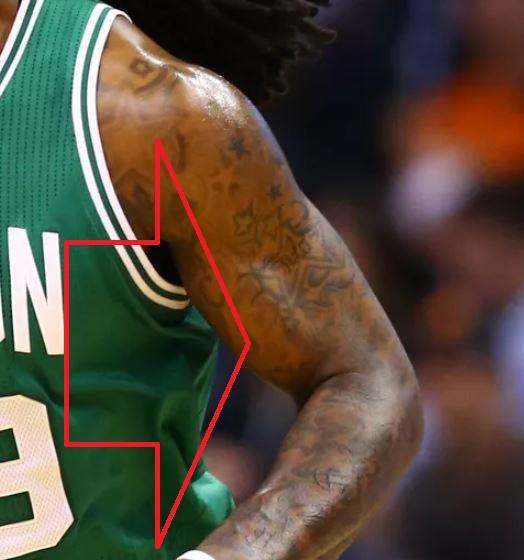Jae Stars on Left Arm