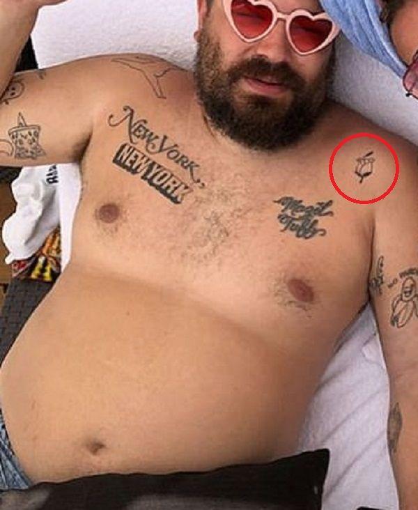 Joshua Ostrovsky-The Fat Jewish-Rose Bud Tattoo