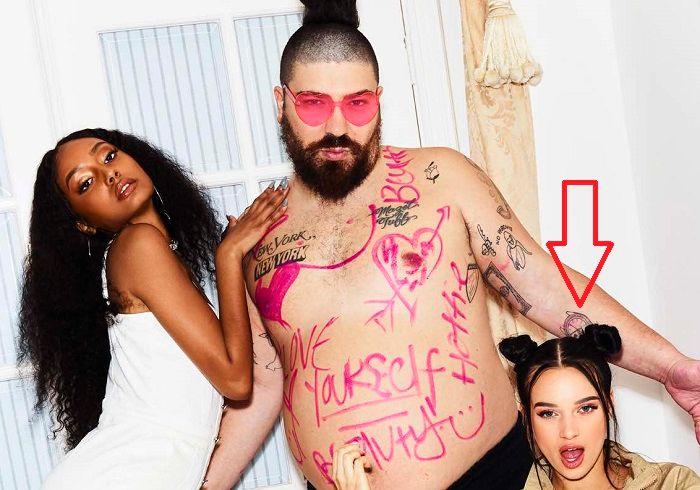 Joshua Ostrovsky-The Fat Jewish-Wrist Watch Tattoo
