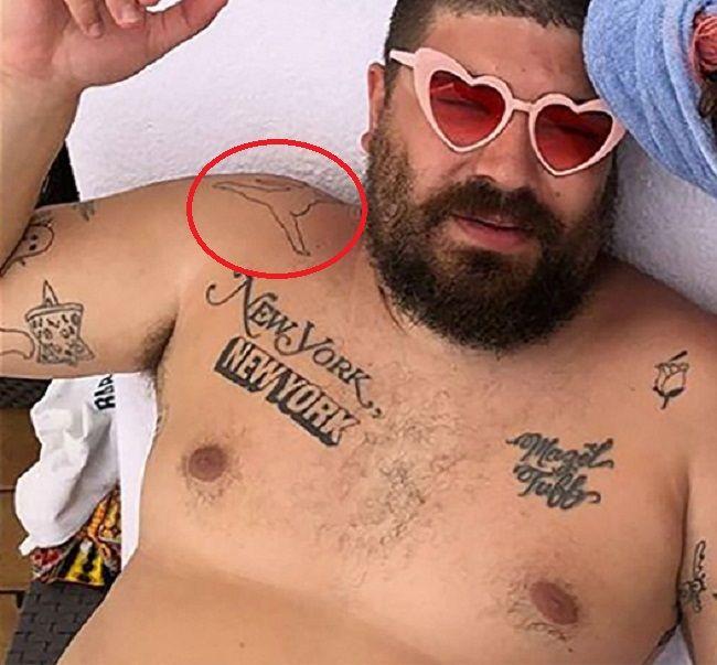 Joshua Ostrovsky-Self Tattoo-The Fat Jew